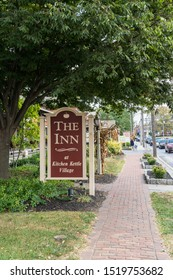 Intercourse, PA - Sept 28, 2019: The Inn at Kitchen Kettle Village offers 18 unique accommodations tucked throughout the structures of the Village.