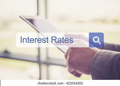Interest Rates Concept