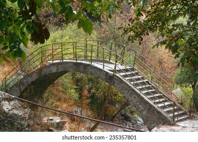 interesting bridge on area of Noravank monastery, Armenia
