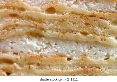 An interesting cheese cake texture