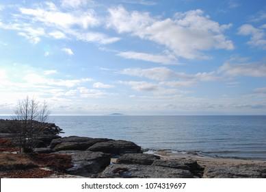 Interesting limestone formations by Byrum on the swedish island Oland