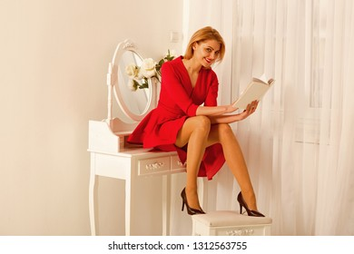 interesting novel. interesting novel in book. woman reading interesting novel. book with interesting novel in hands of sexy woman