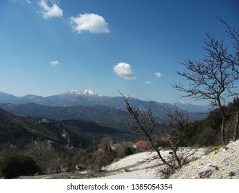 interesting places and landscapes of the Greek mountains