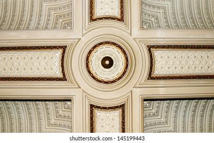 Interior antique roof