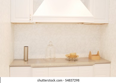 It is interior of apartment, it is the kitchen.