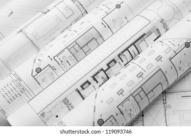 interior and architectural drawing