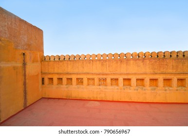 Interior architecture of Amer fort.
