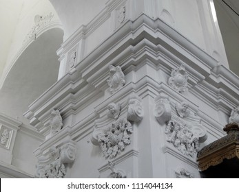 Interior architecture of Ukrainian baroque