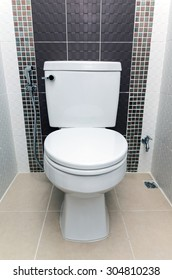 Interior bathroom in Luxury Home