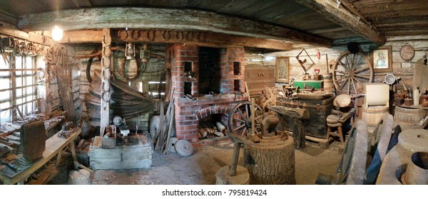 Interior of a Blacksmith's Shop