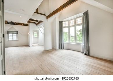 Interior of a bright and spacious room in luxury house