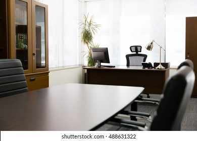interior of business office