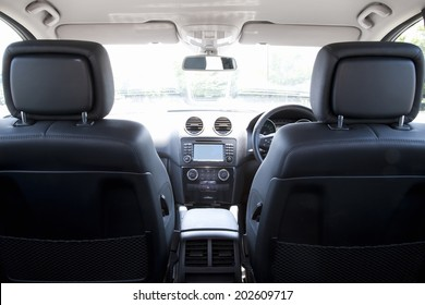 Interior Of The Car