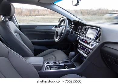 Interior car front seat