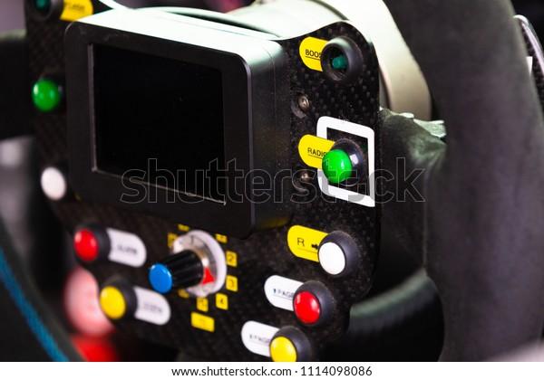 Interior Car Racing Race Car Cockpit Stock Photo (Edit Now
