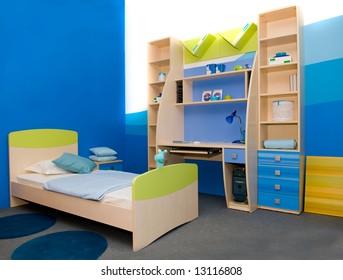 Interior of a children's room