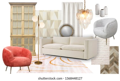 Mood Board Design Interior High Res Stock Images Shutterstock