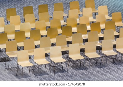 interior of a conference hall