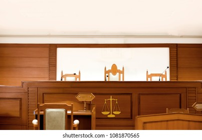 interior courtroom lawyer attester and magistrate in court. The law adjustment room political control social.