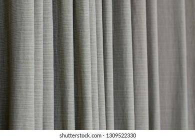 interior curtain hanging on window