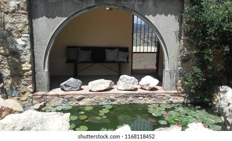 Interior de El Castillo de Monda