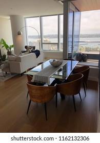 Interior decorated apartment