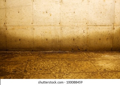 Interior depiction of water damage to walls from flooding. Good for numerous concepts, such as poverty, distress, abandonment, construction, and more.