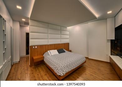 Interior design: Beautiful big bed room