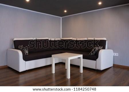 Interior Design Bedroom Mezzanine Sofa Stockfoto (Jetzt bearbeiten ...