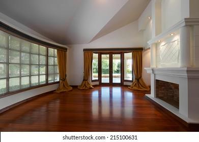 Interior Design: Big Empty Living room