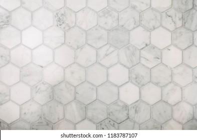 Interior Design Hexagon Marble Tile\