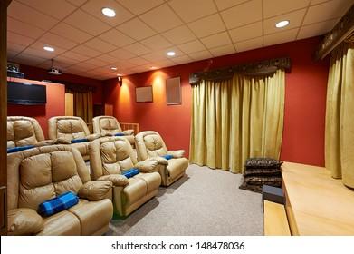 Interior design: Home theater