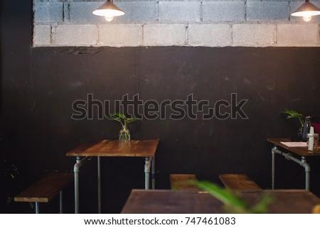 Interior Design Industrial Loft Style Coffee Stock Photo Edit Now