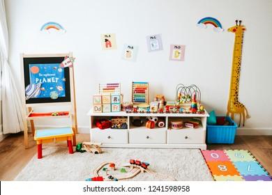 Wall Design Kindergarten