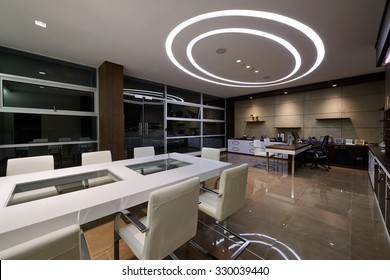 Interior Design: Meeting room and office