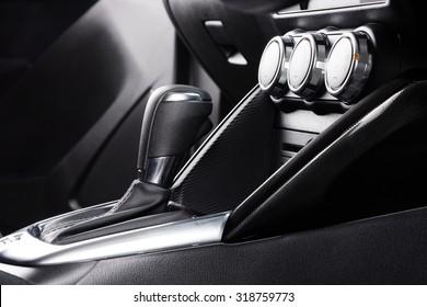 interior design of the modern car