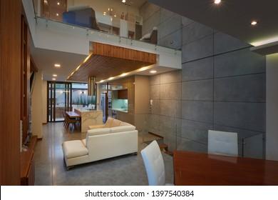Interior design: Modern house interior