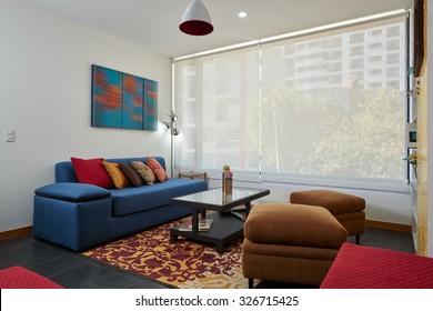 Interior design: Modern living room / Suite