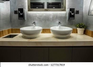Luxury Restaurant Toilet Images Stock Photos Vectors Shutterstock