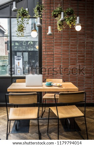 Interior Design Vintage Style Coffee Cup Stock Photo Edit Now
