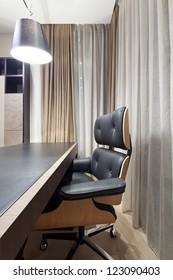 Interior of designer office