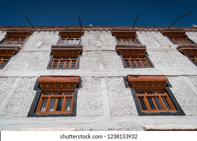 Interior of famous Tibetan Buddhist Monastery, Hemis Monastery in Leh-Ladakh , India