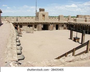 interior of frontier fortification