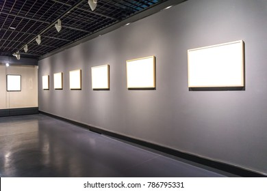 interior of gallery