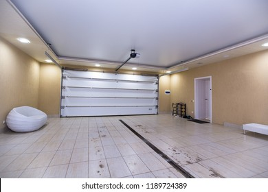 interior of the garage house