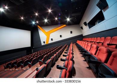 interior of the hall Cinema