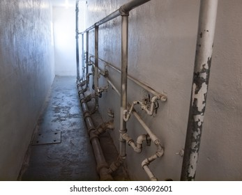 Interior of an Historic State Penitentiary in Boise Idaho USA