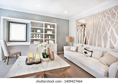 Interior home new luxury modern