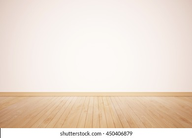 Interior of a home with refinished hardwood floors. Wood floor textured pattern background. wood floor isolated. nature good Perspective warm wooden floor texture