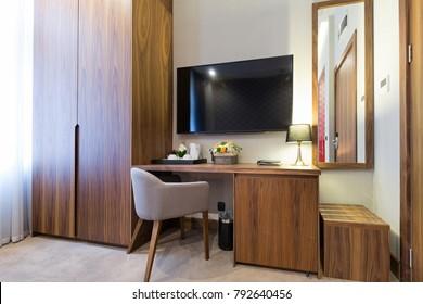 Interior of a hotel apartment